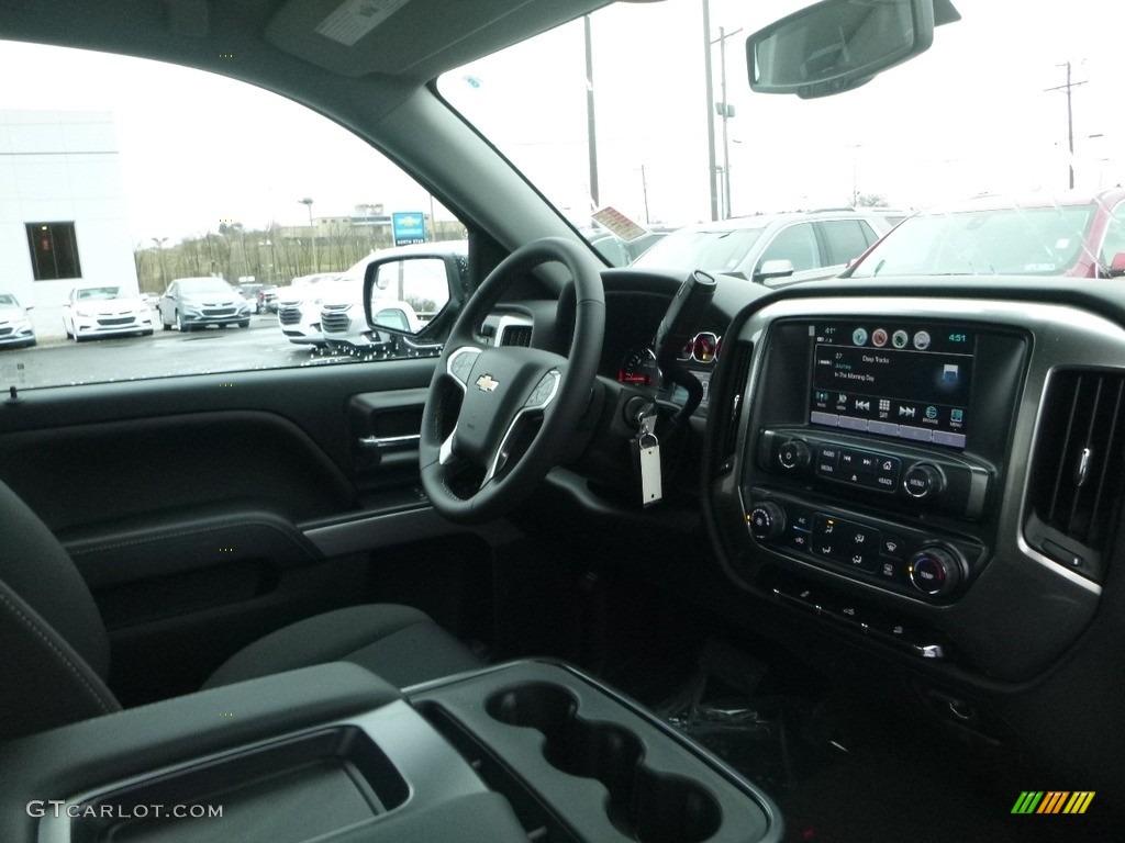 2018 Silverado 1500 LT Regular Cab 4x4 - Black / Jet Black photo #12