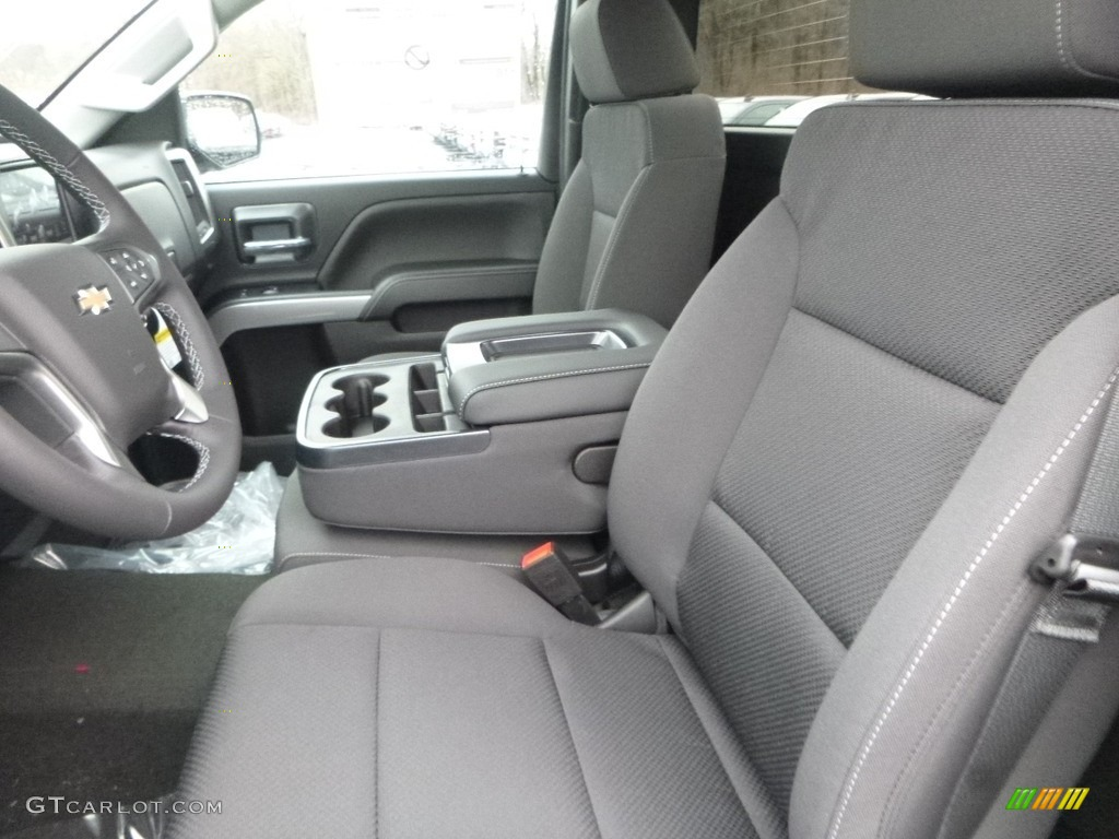 2018 Silverado 1500 LT Regular Cab 4x4 - Black / Jet Black photo #16