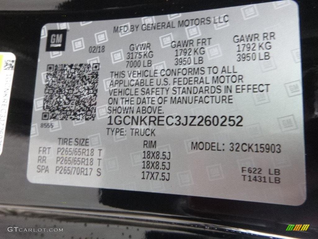 2018 Silverado 1500 LT Regular Cab 4x4 - Black / Jet Black photo #18