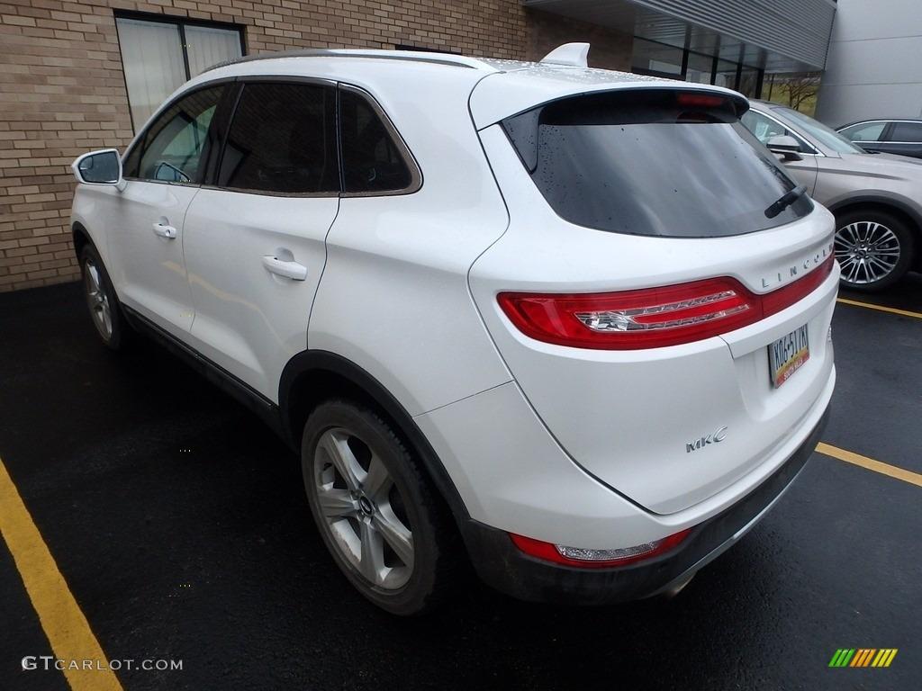 2015 MKC AWD - White Platinum Metallic Tri-coat / Ebony photo #2