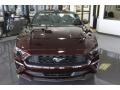 2018 Royal Crimson Ford Mustang EcoBoost Premium Convertible  photo #2