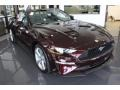 2018 Royal Crimson Ford Mustang EcoBoost Premium Convertible  photo #3