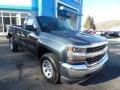 2018 Graphite Metallic Chevrolet Silverado 1500 WT Regular Cab 4x4  photo #3