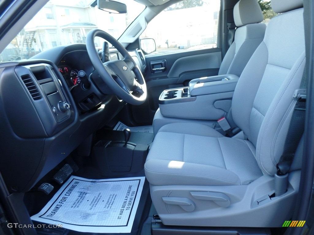 2018 Silverado 1500 WT Regular Cab 4x4 - Graphite Metallic / Dark Ash/Jet Black photo #15
