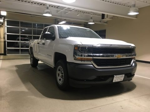 2018 Chevrolet Silverado 1500 WT Double Cab 4x4 Data, Info and Specs