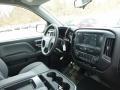 2018 Silver Ice Metallic Chevrolet Silverado 1500 Custom Crew Cab  photo #11