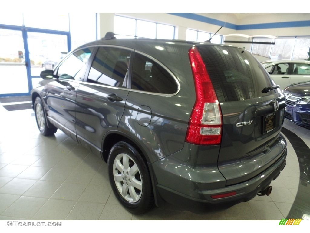 2011 CR-V SE 4WD - Polished Metal Metallic / Black photo #2