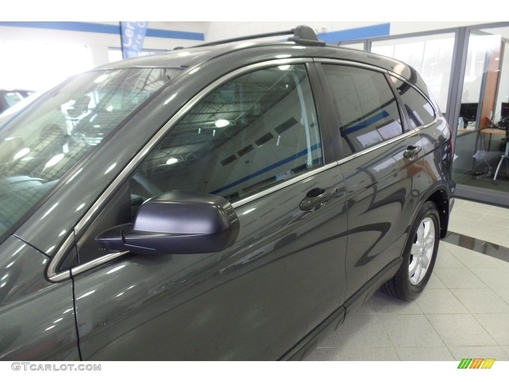 2011 CR-V SE 4WD - Polished Metal Metallic / Black photo #6