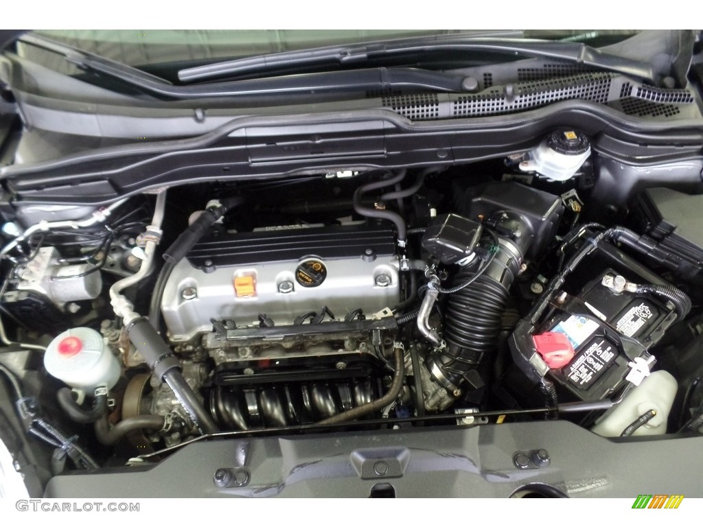 2011 CR-V SE 4WD - Polished Metal Metallic / Black photo #28