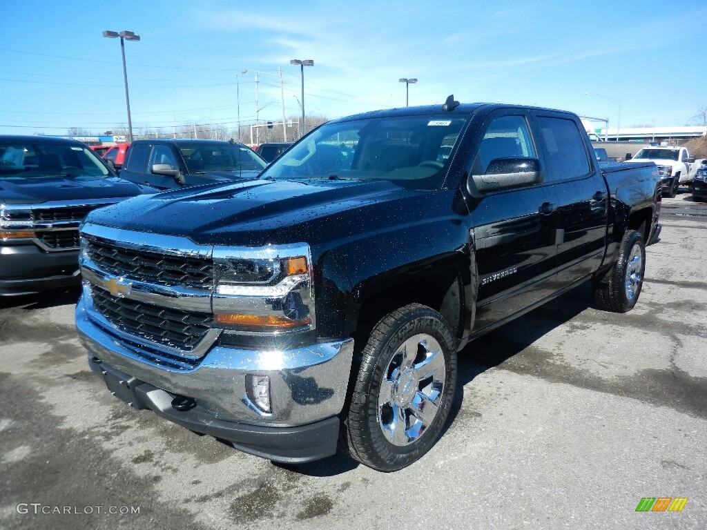 2018 Silverado 1500 LT Crew Cab 4x4 - Black / Jet Black photo #1