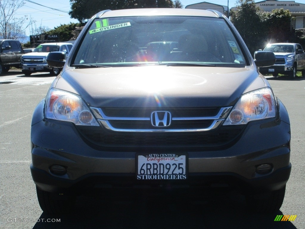 2011 CR-V SE - Polished Metal Metallic / Ivory photo #2