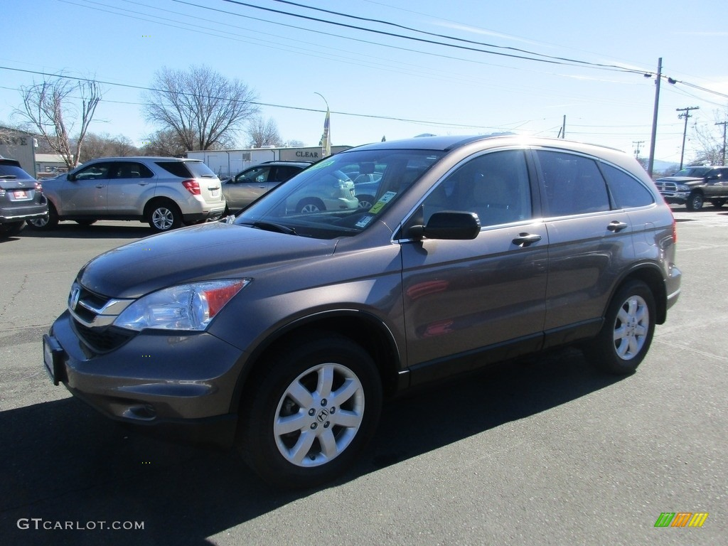 2011 CR-V SE - Polished Metal Metallic / Ivory photo #3