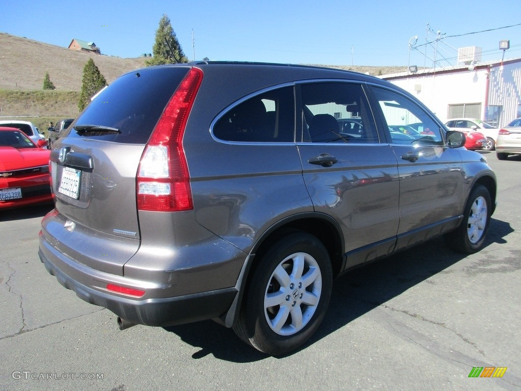 2011 CR-V SE - Polished Metal Metallic / Ivory photo #6