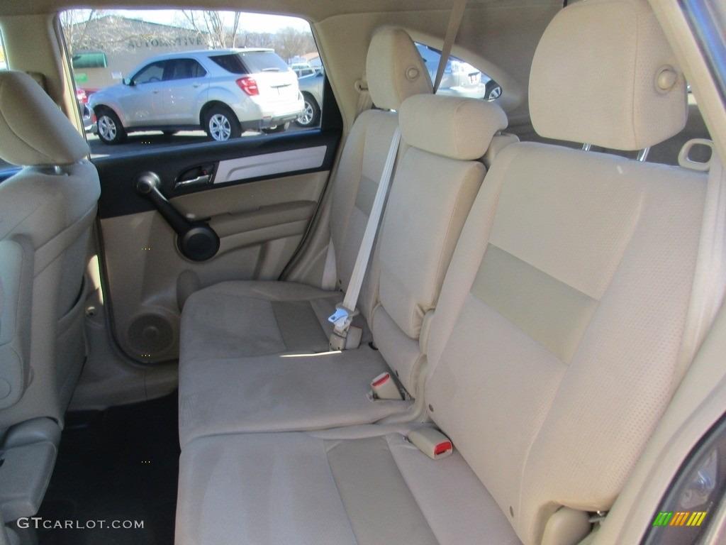 2011 CR-V SE - Polished Metal Metallic / Ivory photo #8