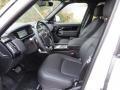Ebony Interior Photo for 2018 Land Rover Range Rover #125840344