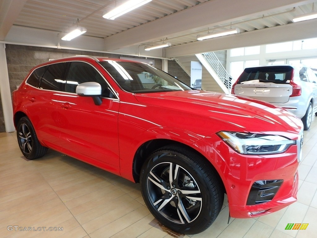 2018 Passion Red Volvo Xc60 T6 Awd R Design 125861598 Gtcarlot Com Car Color Galleries