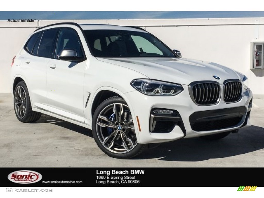 2018 Alpine White BMW X3 M40i 125889817