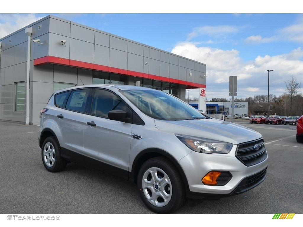 2018 Escape S - Ingot Silver / Charcoal Black photo #1