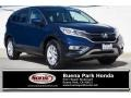 2015 Obsidian Blue Pearl Honda CR-V EX  photo #1