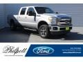 2012 Sterling Grey Metallic Ford F250 Super Duty Lariat Crew Cab 4x4 #125902721