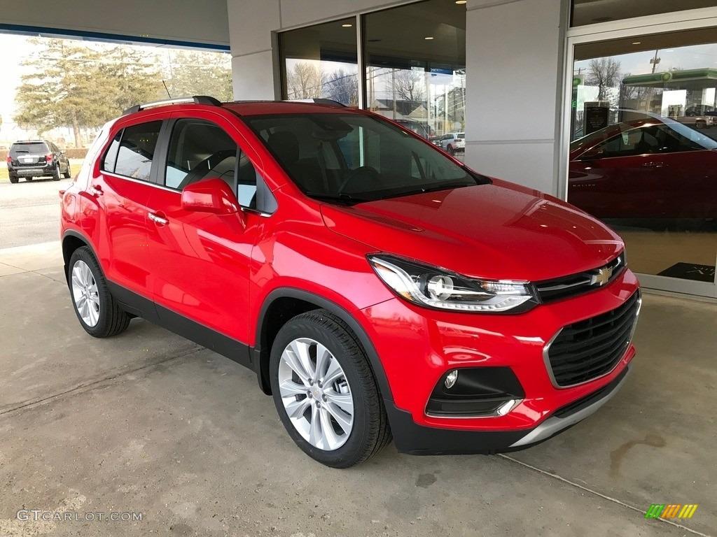 2018 Red Hot Chevrolet Trax Premier 125960739 Gtcarlot Com Car Color Galleries