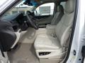 2018 Cadillac Escalade Shale/Jet Black Interior Front Seat Photo