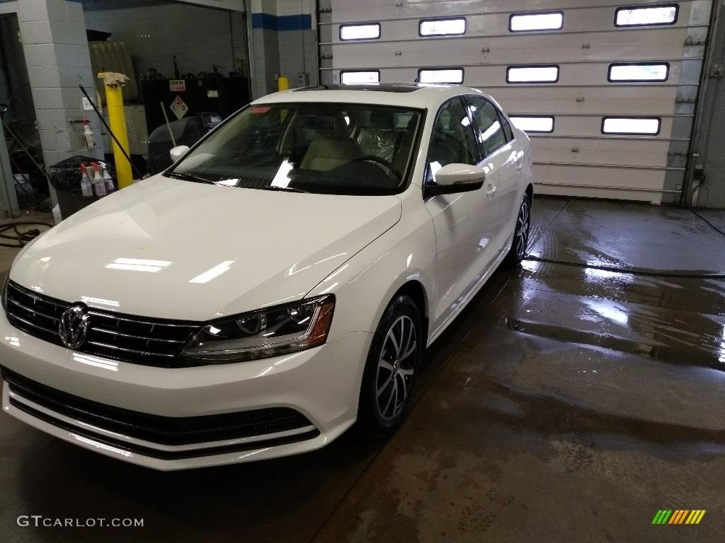 2018 Pure White Volkswagen Jetta Se 125980089 Gtcarlot Com Car Color Galleries