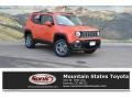 Omaha Orange 2016 Jeep Renegade Latitude 4x4