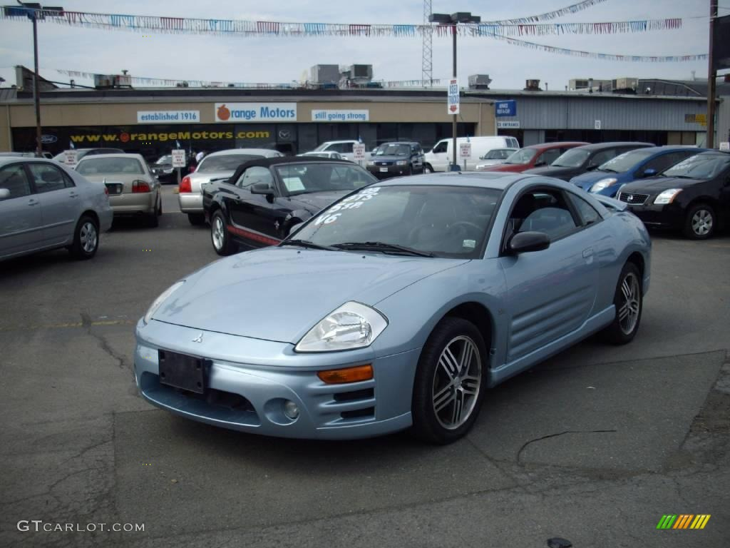 2003 steel blue pearl mitsubishi eclipse gts coupe 12591971 car color galleries. Black Bedroom Furniture Sets. Home Design Ideas