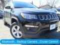 Diamond Black Crystal Pearl 2018 Jeep Compass Latitude 4x4