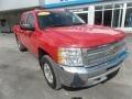 2013 Victory Red Chevrolet Silverado 1500 LT Crew Cab 4x4 #126028776