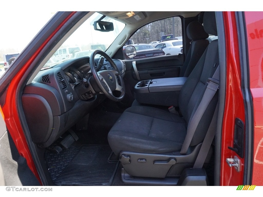 2013 Silverado 1500 LT Extended Cab - Victory Red / Ebony photo #5