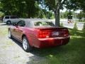 2007 Redfire Metallic Ford Mustang V6 Premium Convertible  photo #4