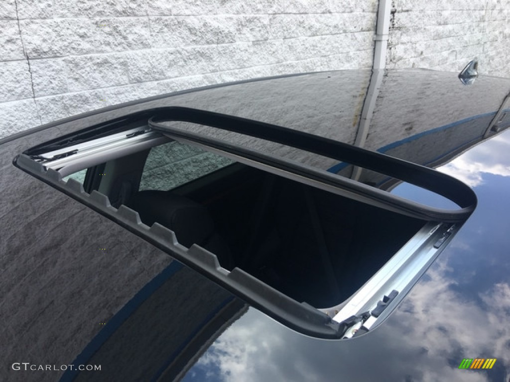 2018 CR-V EX AWD - Crystal Black Pearl / Black photo #9