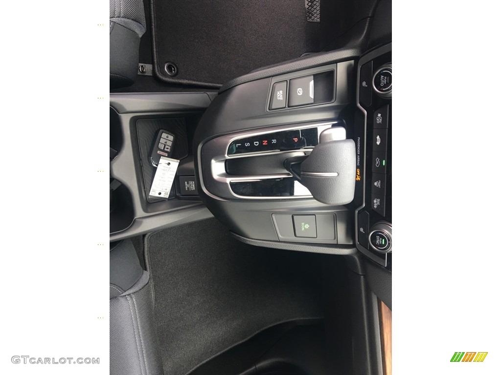 2018 CR-V EX AWD - Crystal Black Pearl / Black photo #19