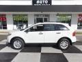 White Suede 2013 Ford Edge SE