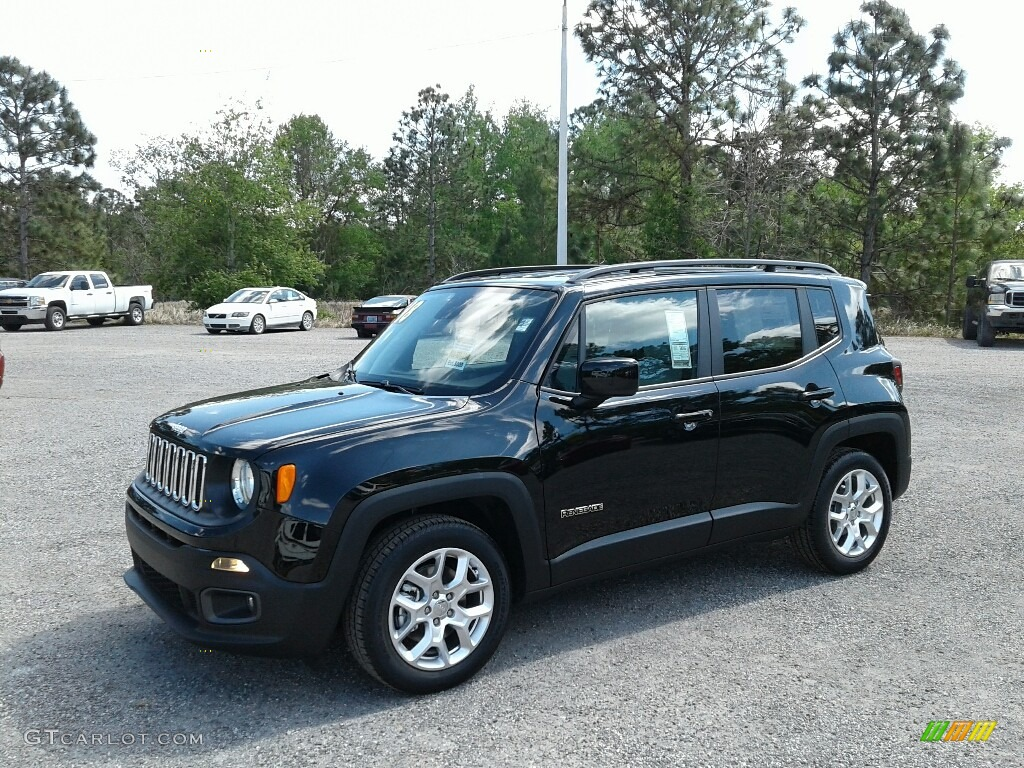 Black Jeep Renegade