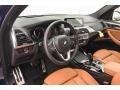 2018 BMW X3 Cognac Interior Front Seat Photo