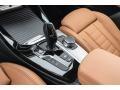 2018 BMW X3 Cognac Interior Transmission Photo