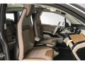 2018 BMW i3 Giga Brown/Carum Spice Grey Interior Front Seat Photo
