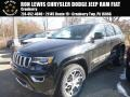 Diamond Black Crystal Pearl 2018 Jeep Grand Cherokee Limited 4x4 Sterling Edition