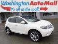 2010 Glacier White Pearl Nissan Murano LE AWD  photo #1