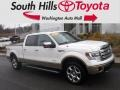 Oxford White 2013 Ford F150 King Ranch SuperCrew 4x4