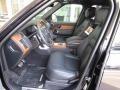Ebony Interior Photo for 2018 Land Rover Range Rover #126297750