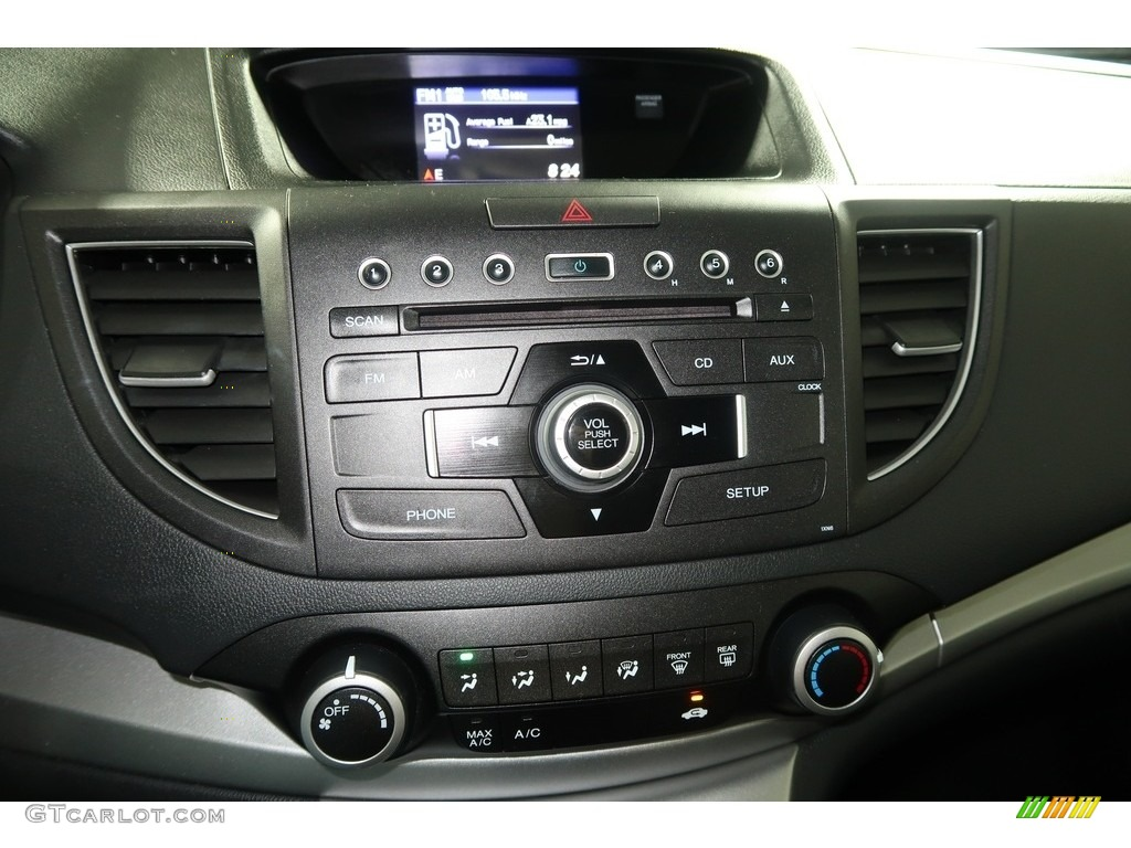 2012 CR-V EX 4WD - Crystal Black Pearl / Gray photo #17