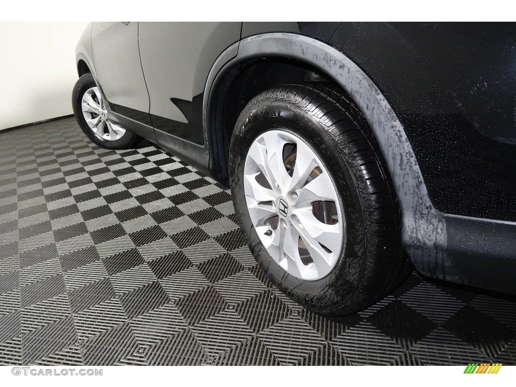 2012 CR-V EX 4WD - Crystal Black Pearl / Gray photo #20
