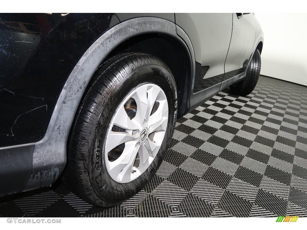2012 CR-V EX 4WD - Crystal Black Pearl / Gray photo #21