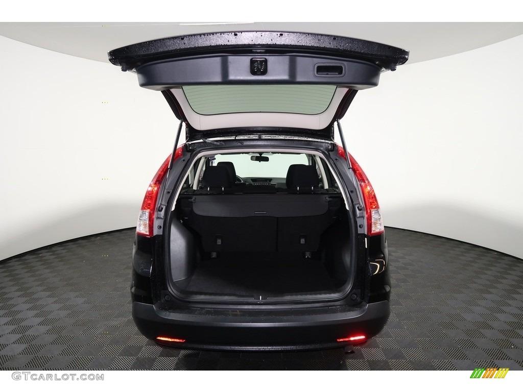 2012 CR-V EX 4WD - Crystal Black Pearl / Gray photo #22