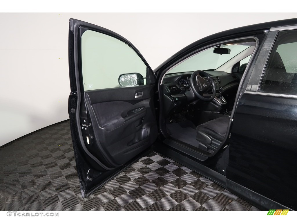 2012 CR-V EX 4WD - Crystal Black Pearl / Gray photo #25
