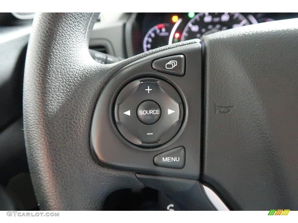 2012 CR-V EX 4WD - Crystal Black Pearl / Gray photo #29